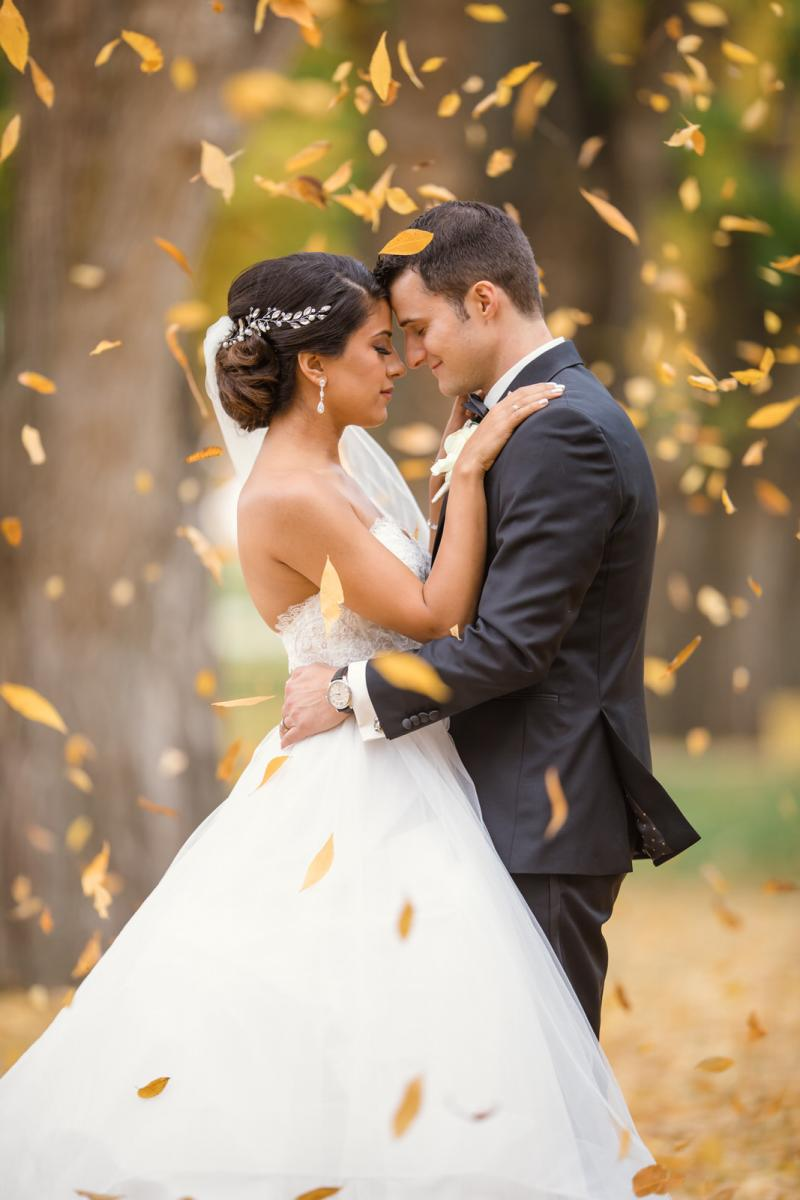 fall wedding photographer