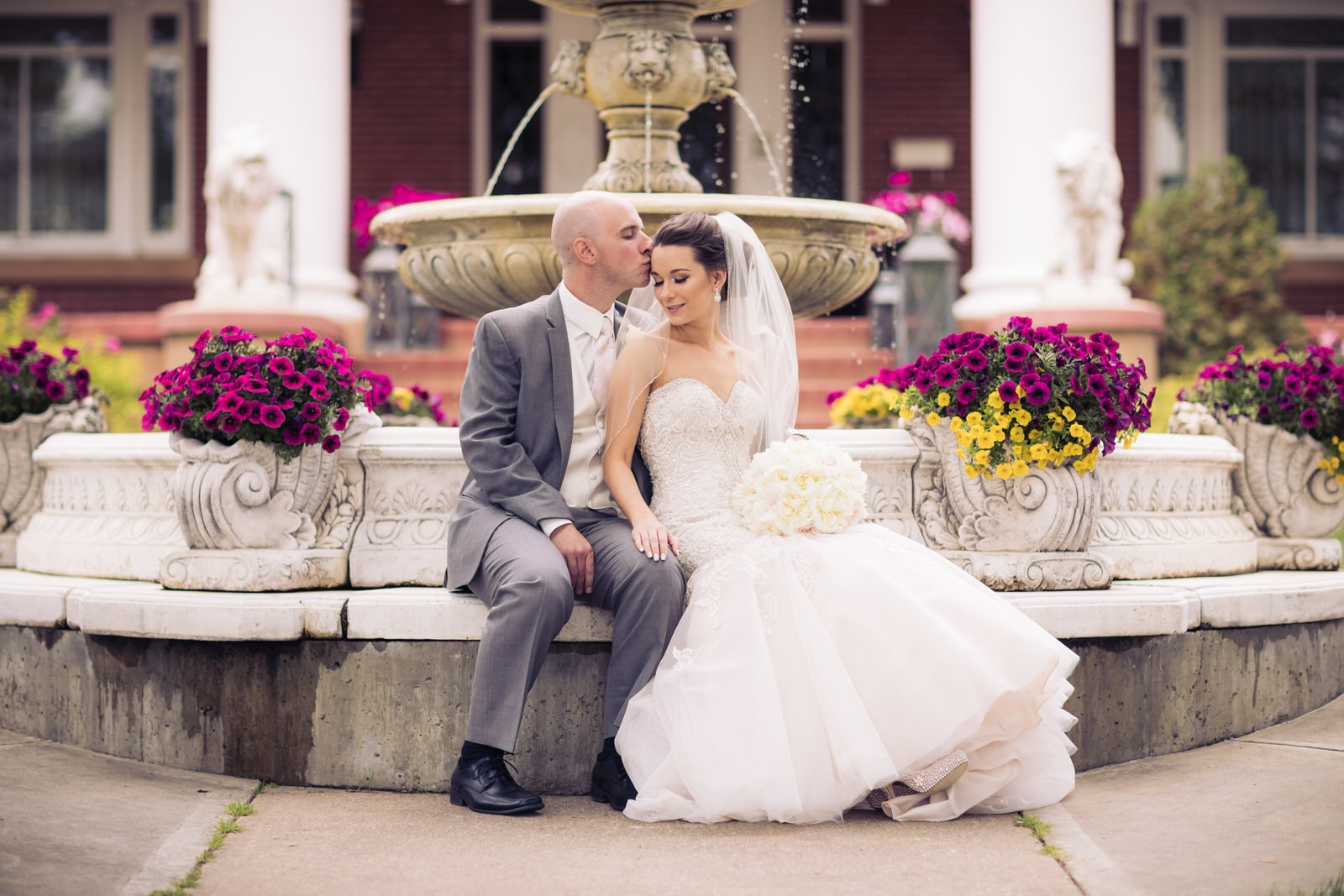 Magrath Mansion wedding photo