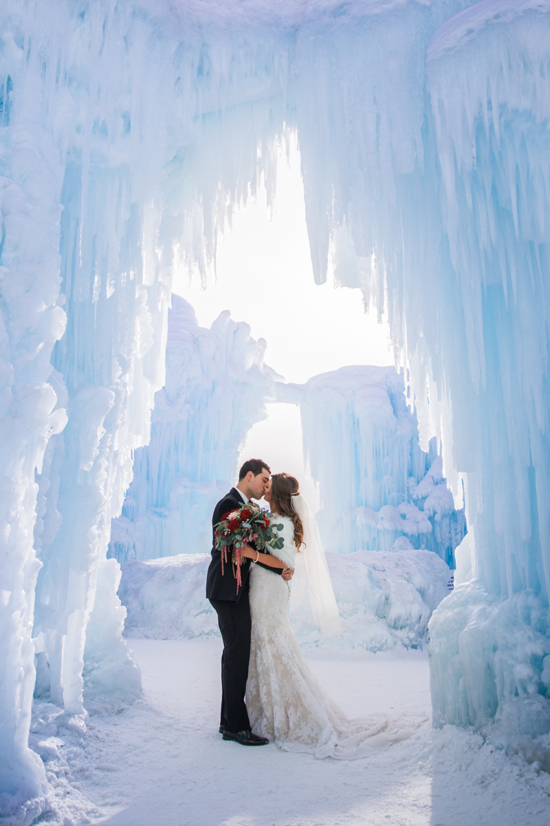 yeg ice castle wedding