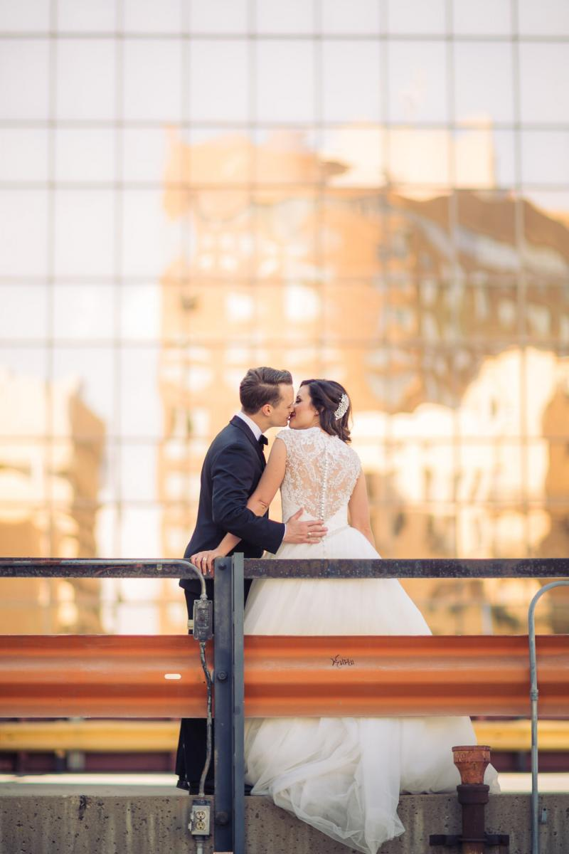 downtown edmonton wedding