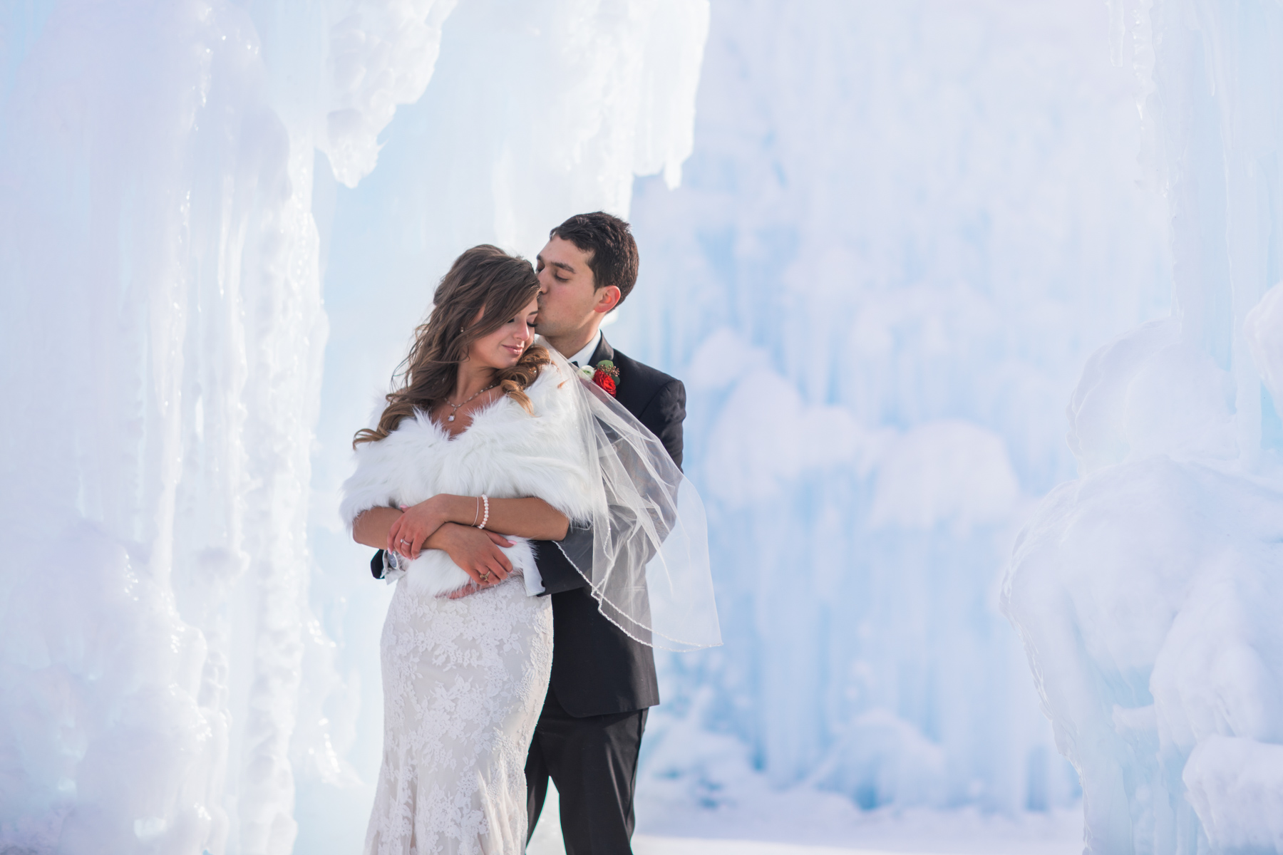 ice castle wedding